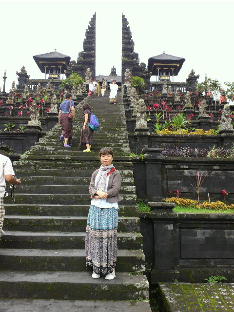 初詣inブサキ寺院